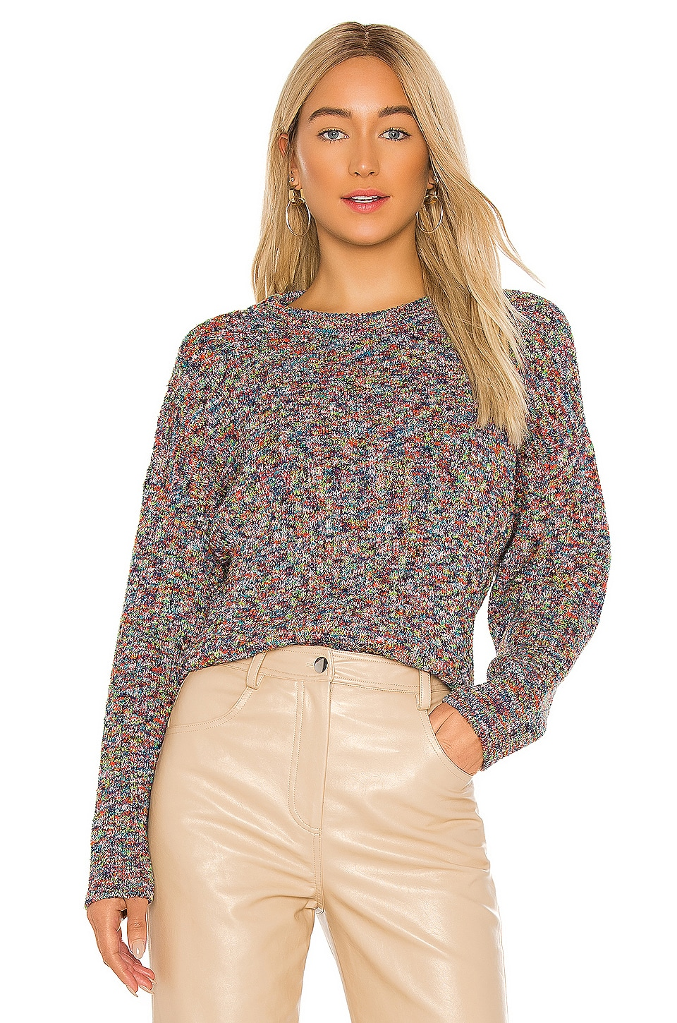 Parker Wayne Sweater in Scattered Rainbow