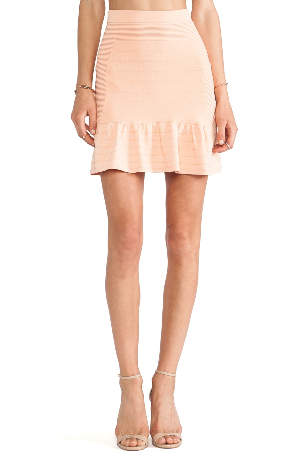 Parker Aries Skirt in Papaya