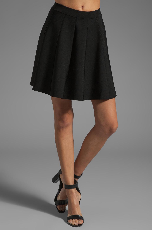 Parker Zoey Knit Skirt in Black