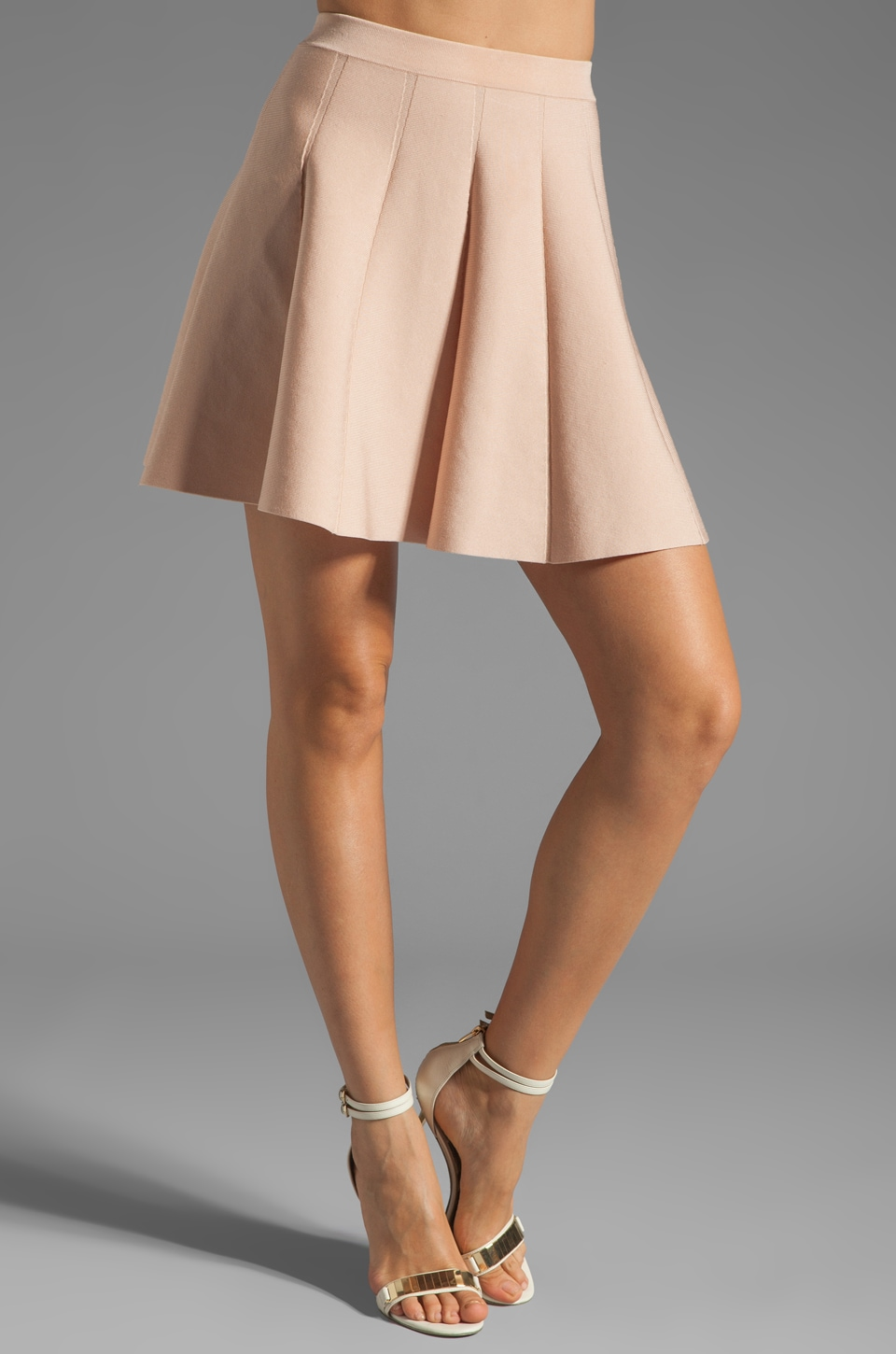 Parker Zoey Knit Skirt in Sand