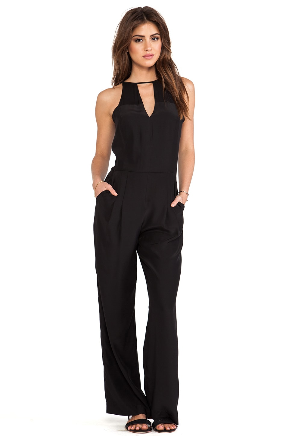 Parker Samira Jumpsuit in Black
