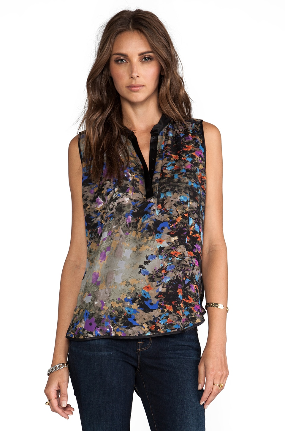 Parker Tess Printed Top in Enchanted