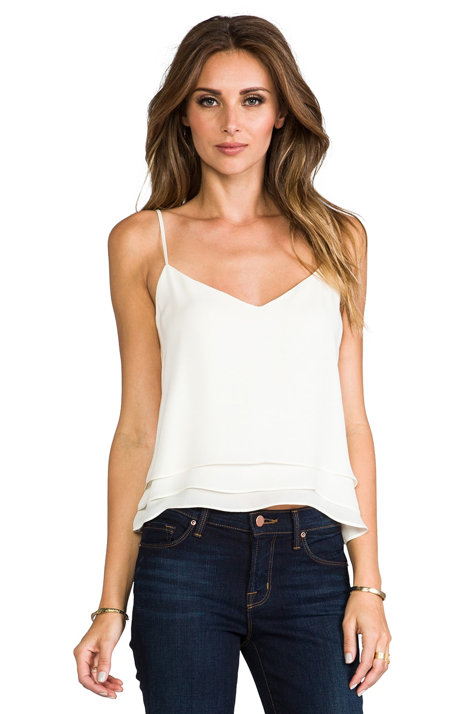 Parker Brynlee Tank in Cream