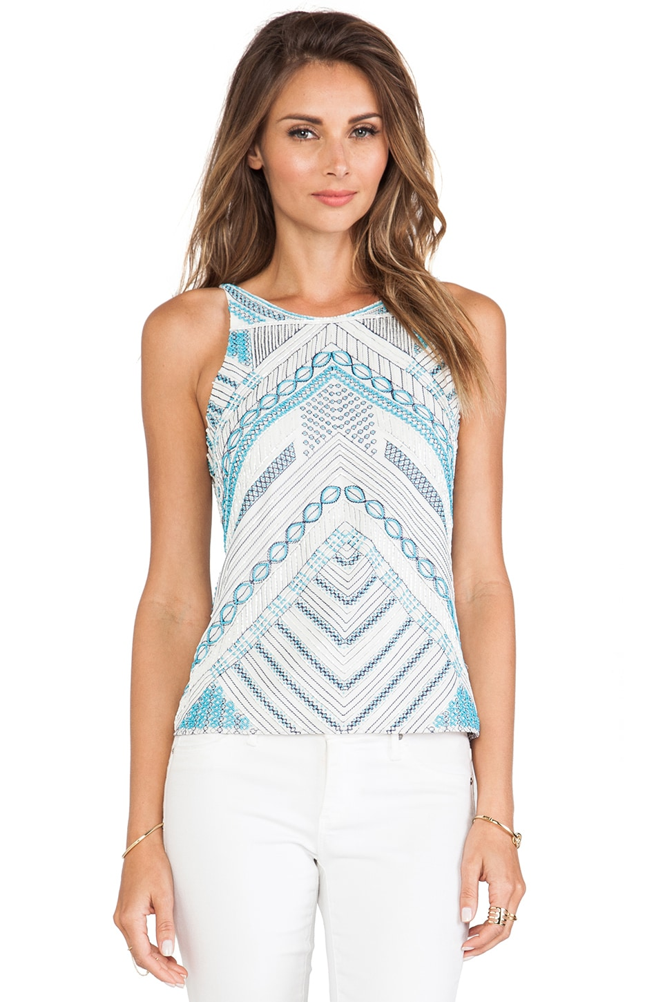 Parker Marcy Sequin Tank in Multi