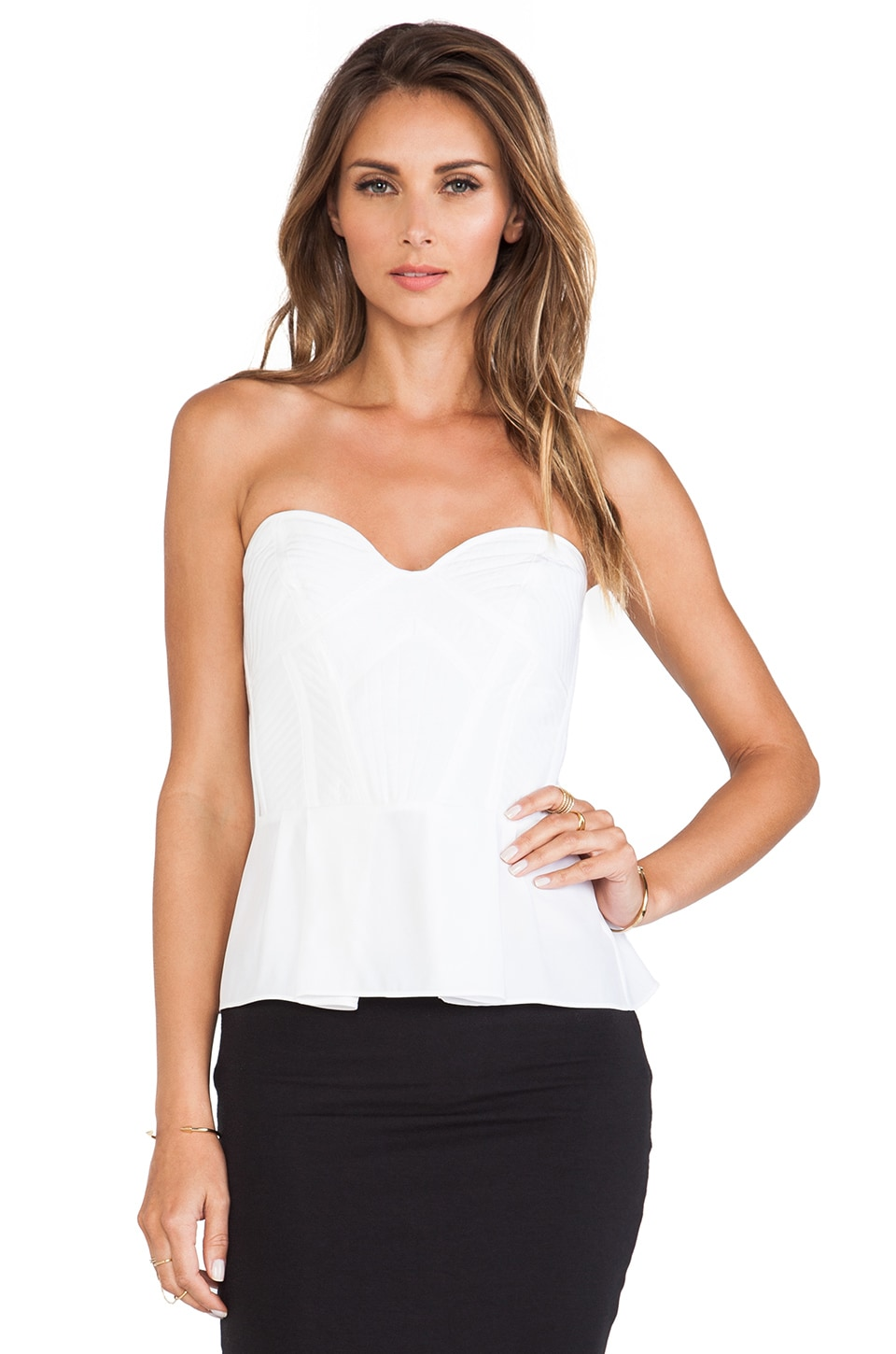Parker Penelope Top in White
