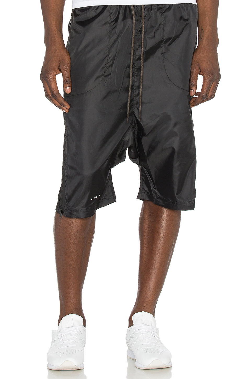 Publish Mono Crino Shorts in Black