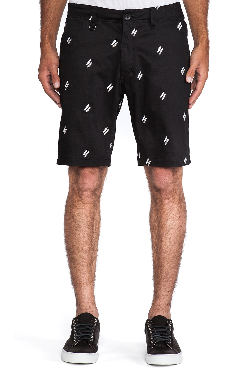 Publish Baylor Short in Black