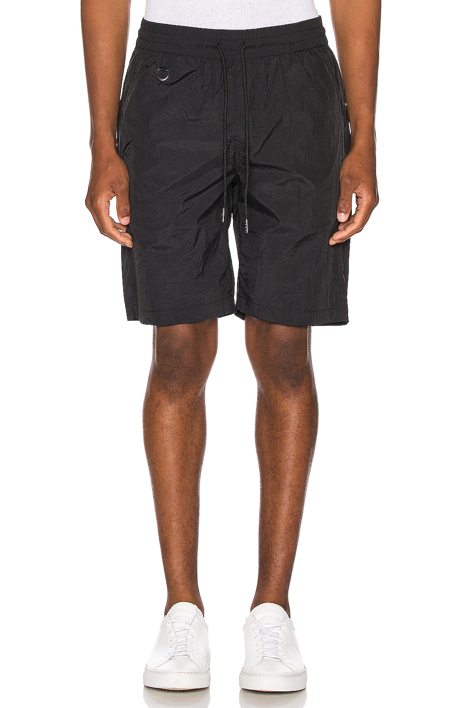Publish Nylon Sprinter Short in Black