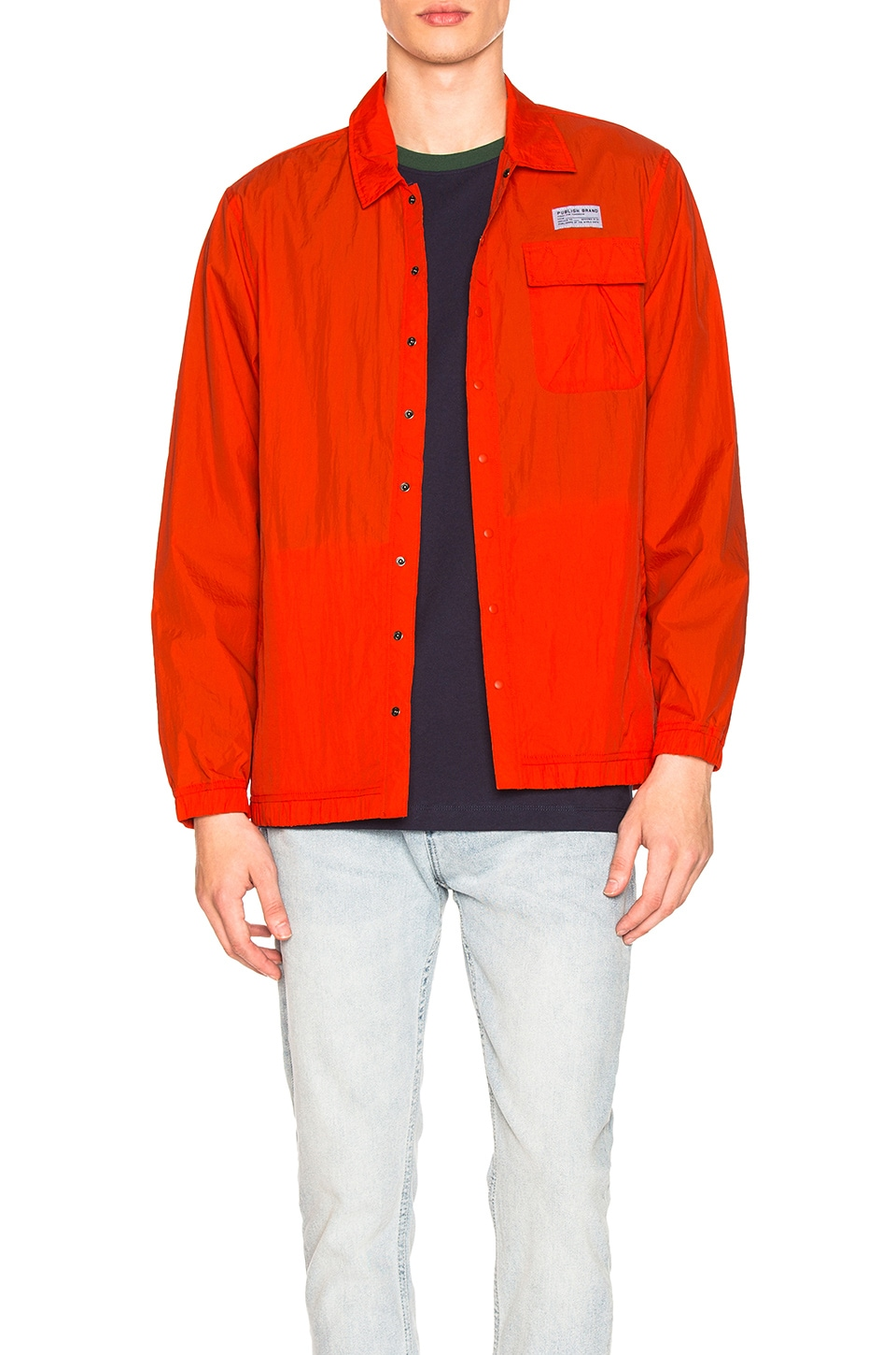 Publish Phil Jacket in Orange