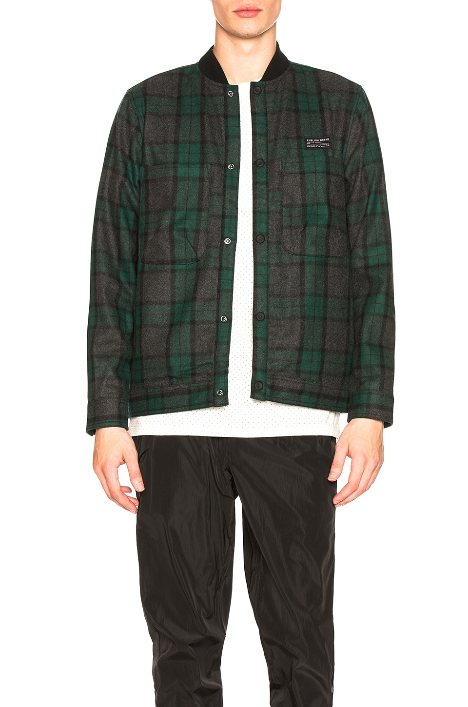 Publish Alonzo Jacket in Green