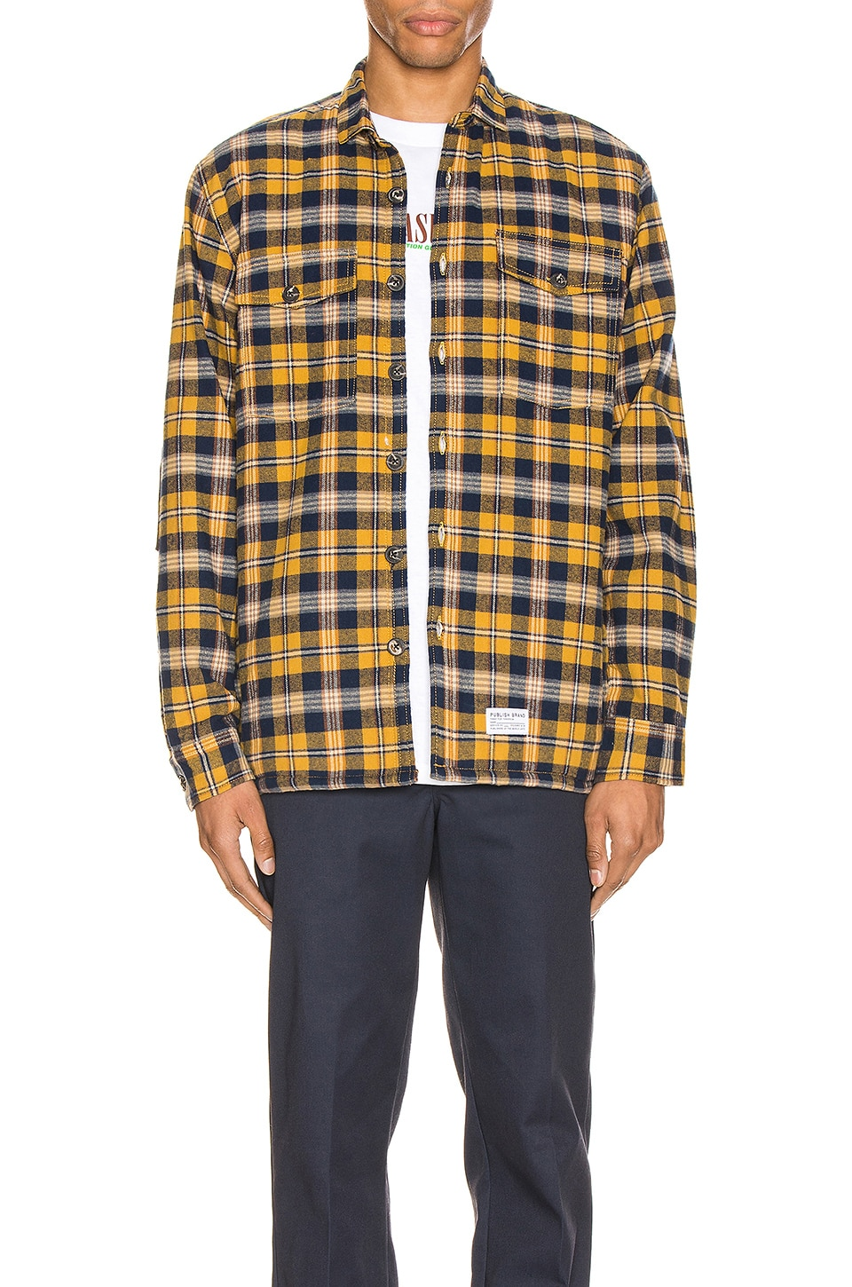 Publish Jasper Jacket in Yellow