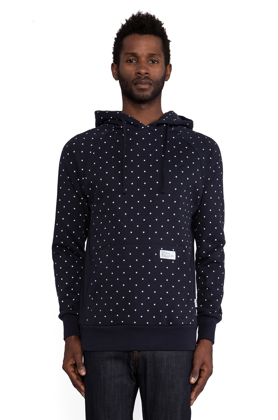 Publish Kaplan Hoodie in Navy