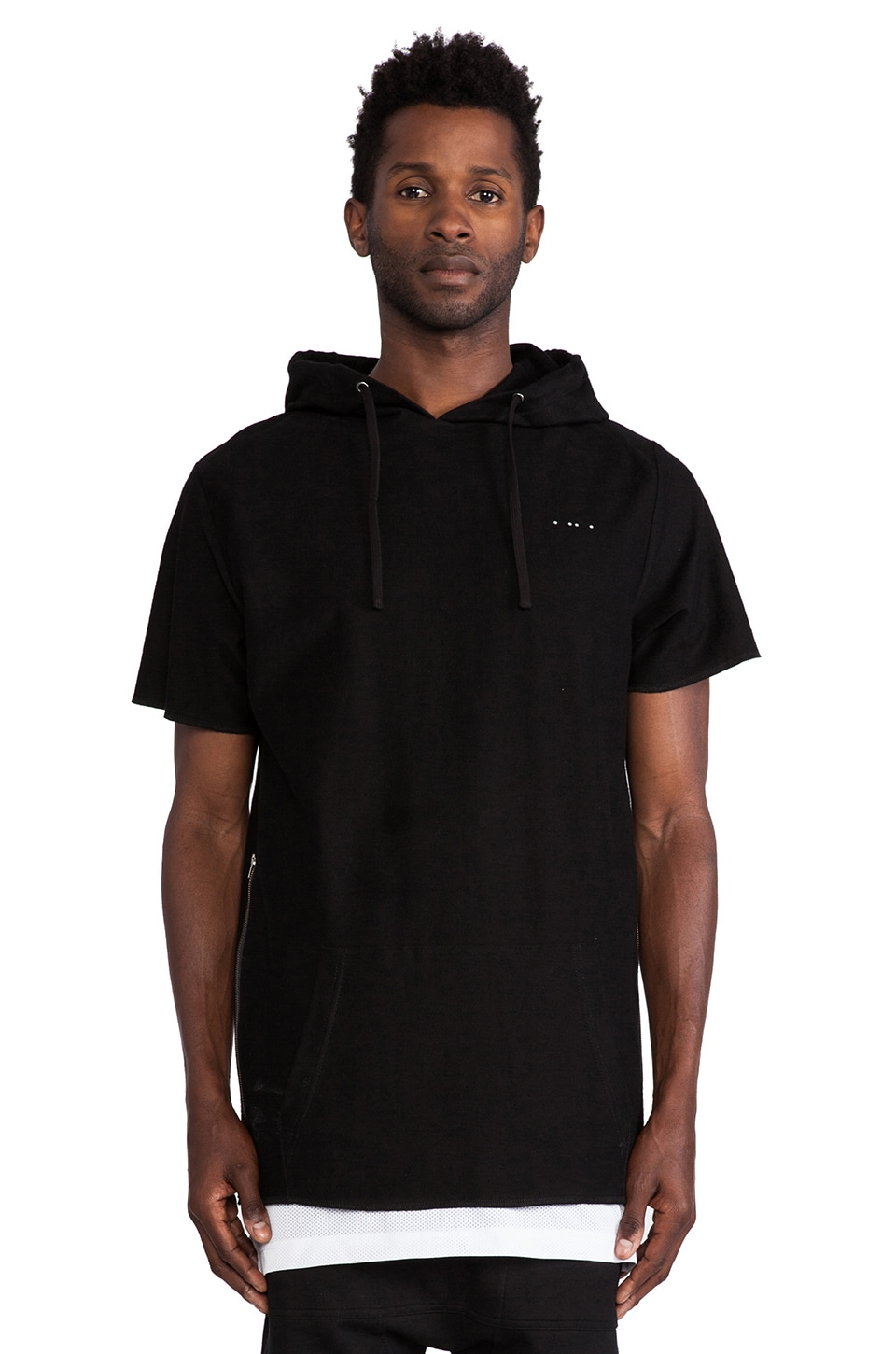 Publish MONO Jaron S/S Sweatshirt in Black
