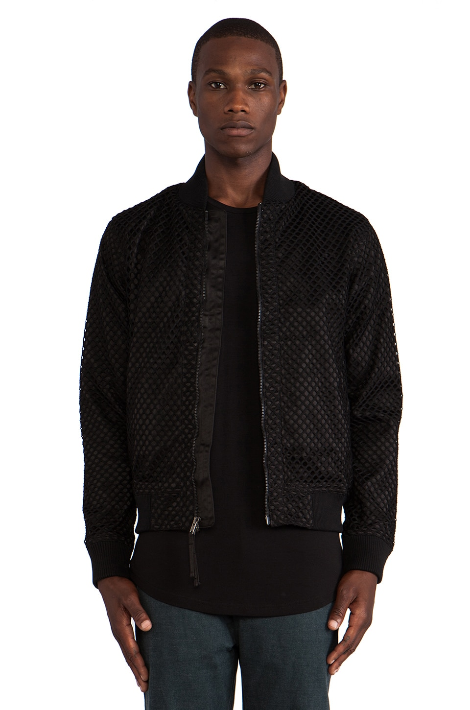 Publish Millo Bomber Jacket in Black