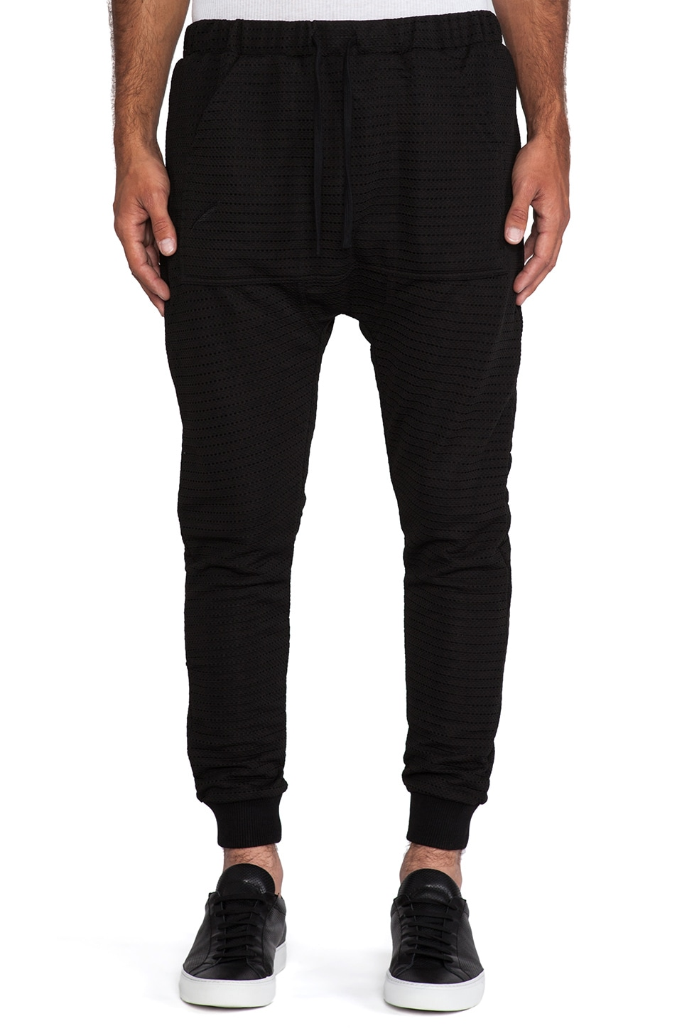 Publish Ricko Pant in Black