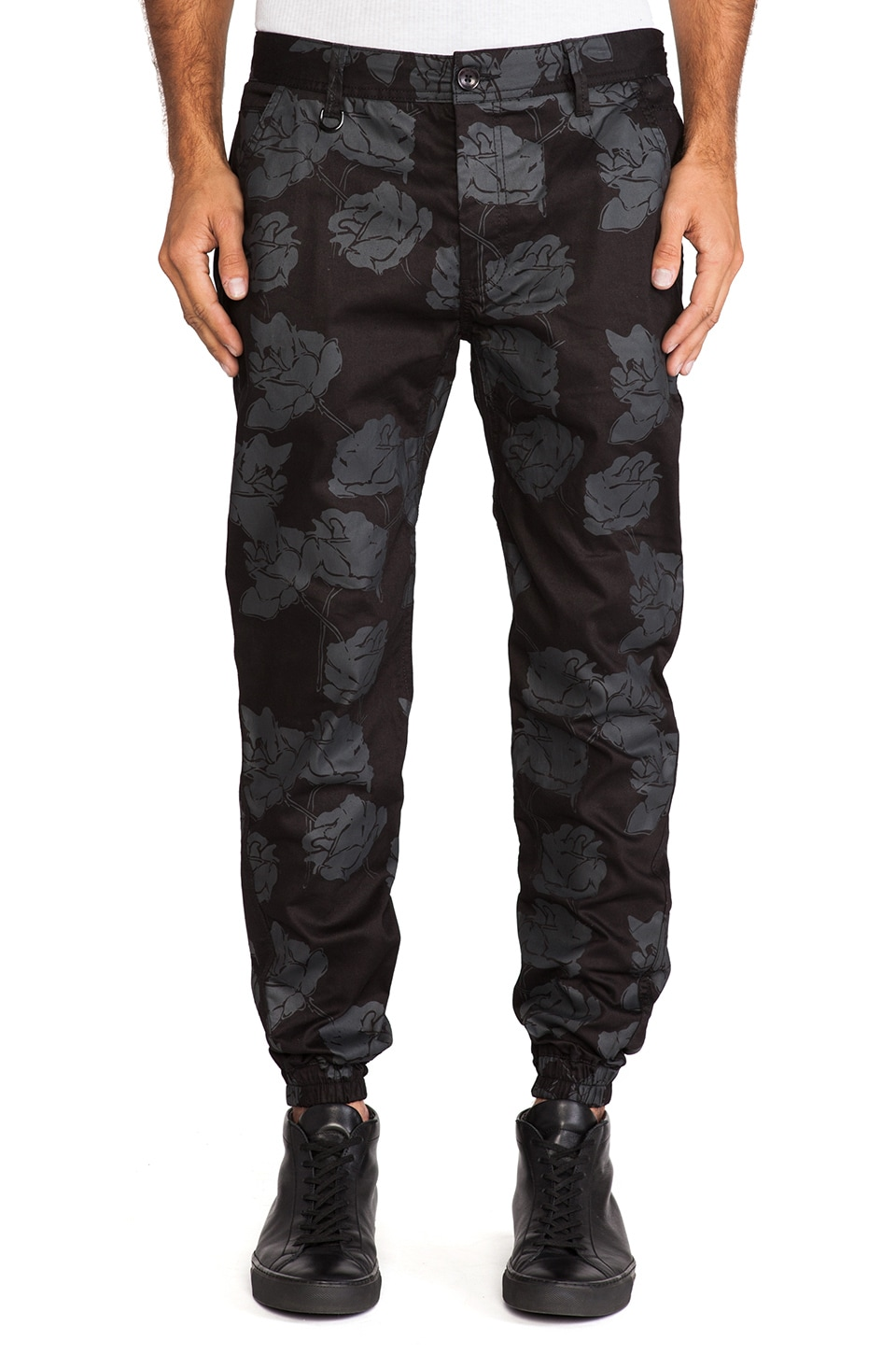 Publish Arion Novelty Jogger in Black