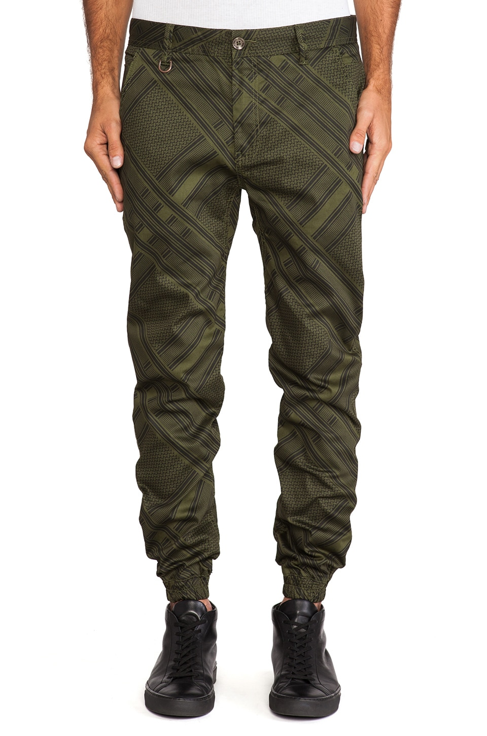 Publish Bancroft Novelty Jogger in Olive