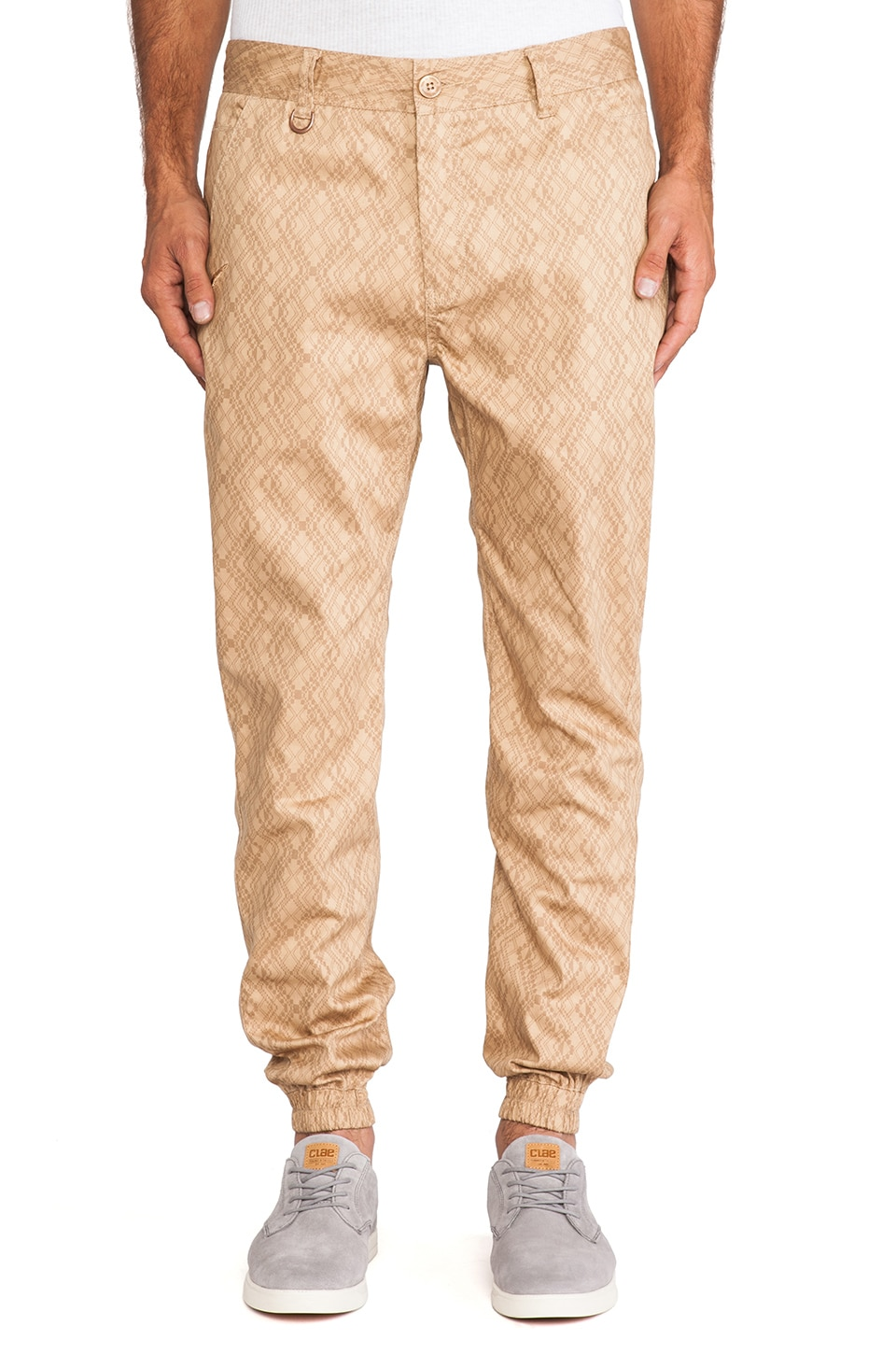Publish Clover Novelty Jogger in Khaki