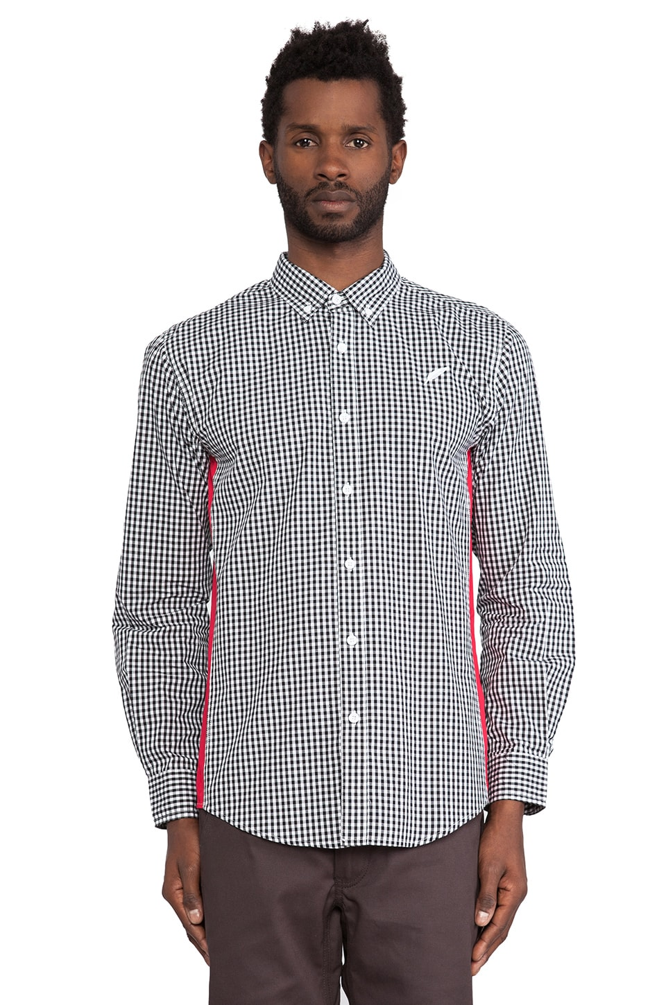 Publish Bronson Button Down in Black
