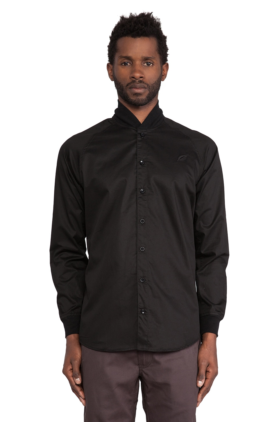 Publish Bruto Button Down in Black