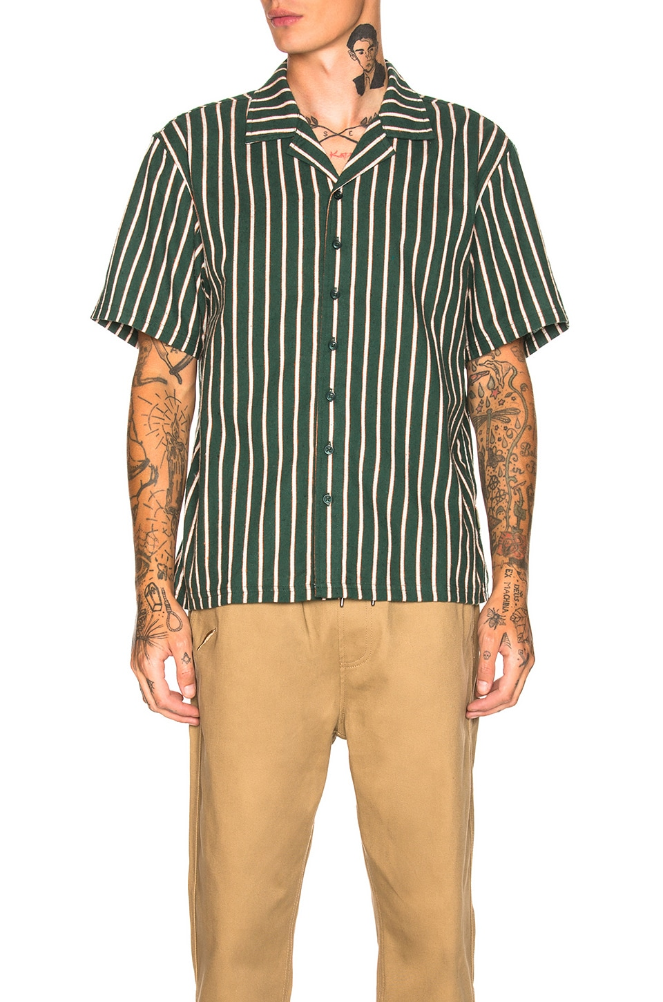 Publish Lopez Shirt in Green