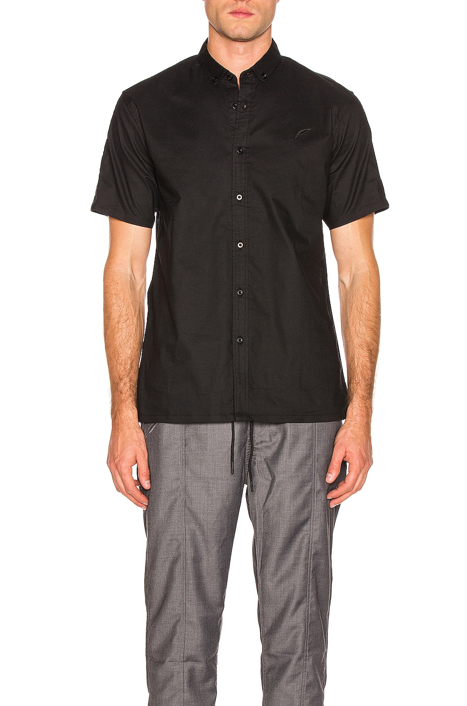 Publish Button Up Shirt in Black