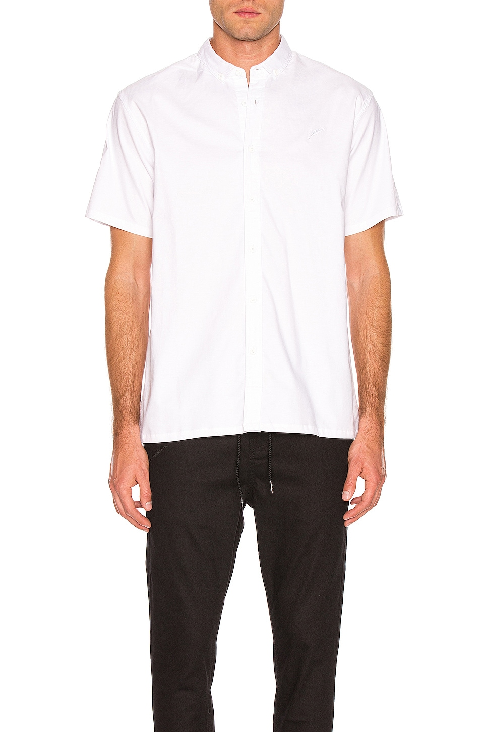Publish Button Up Shirt in White