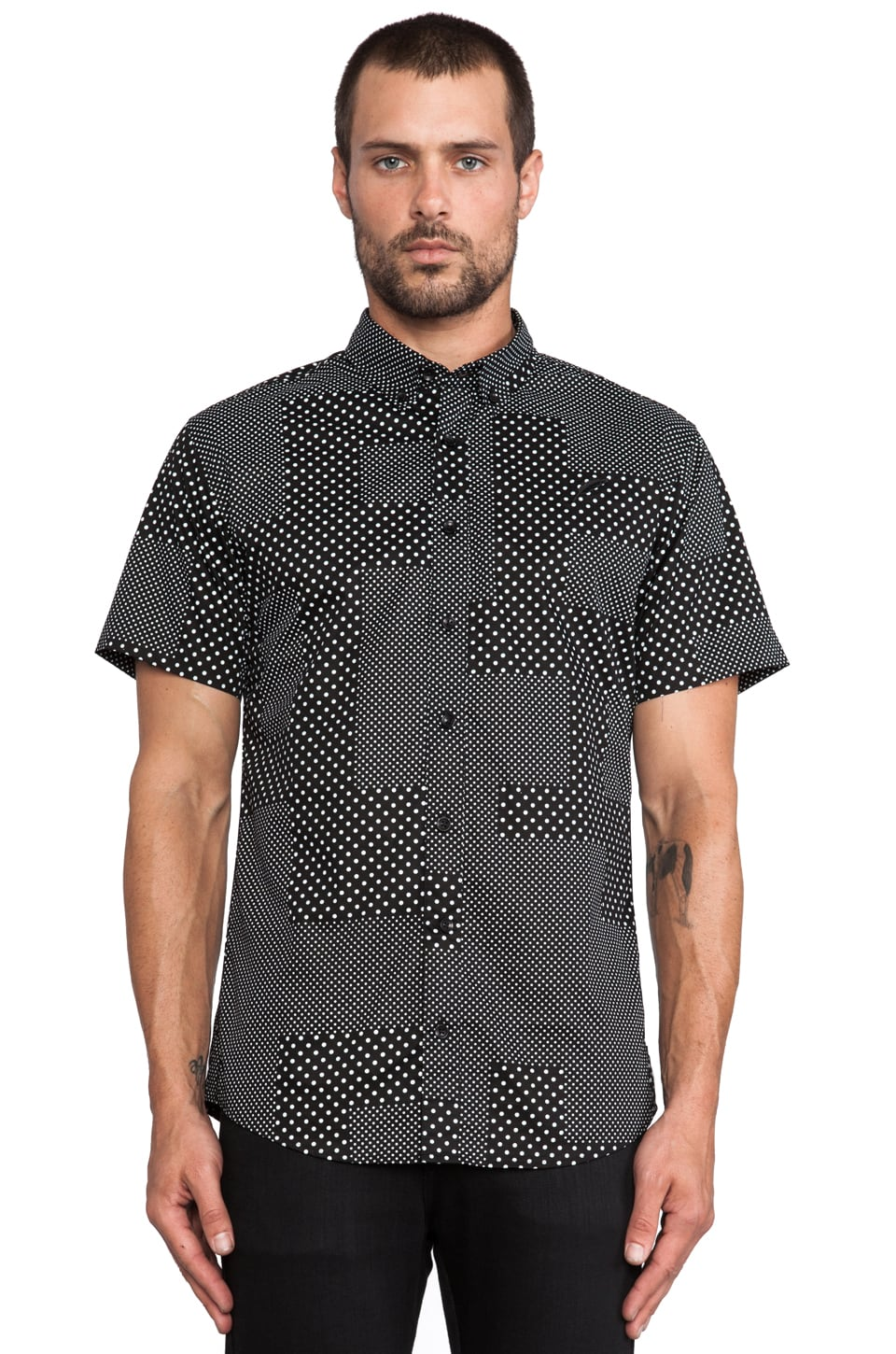 Publish Elias Button Down in Black
