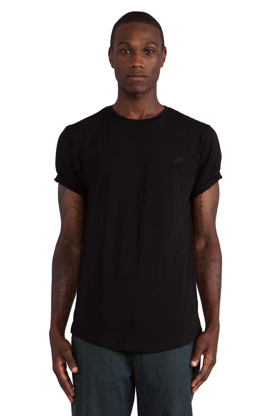 Publish Burne S/S Tee in Black