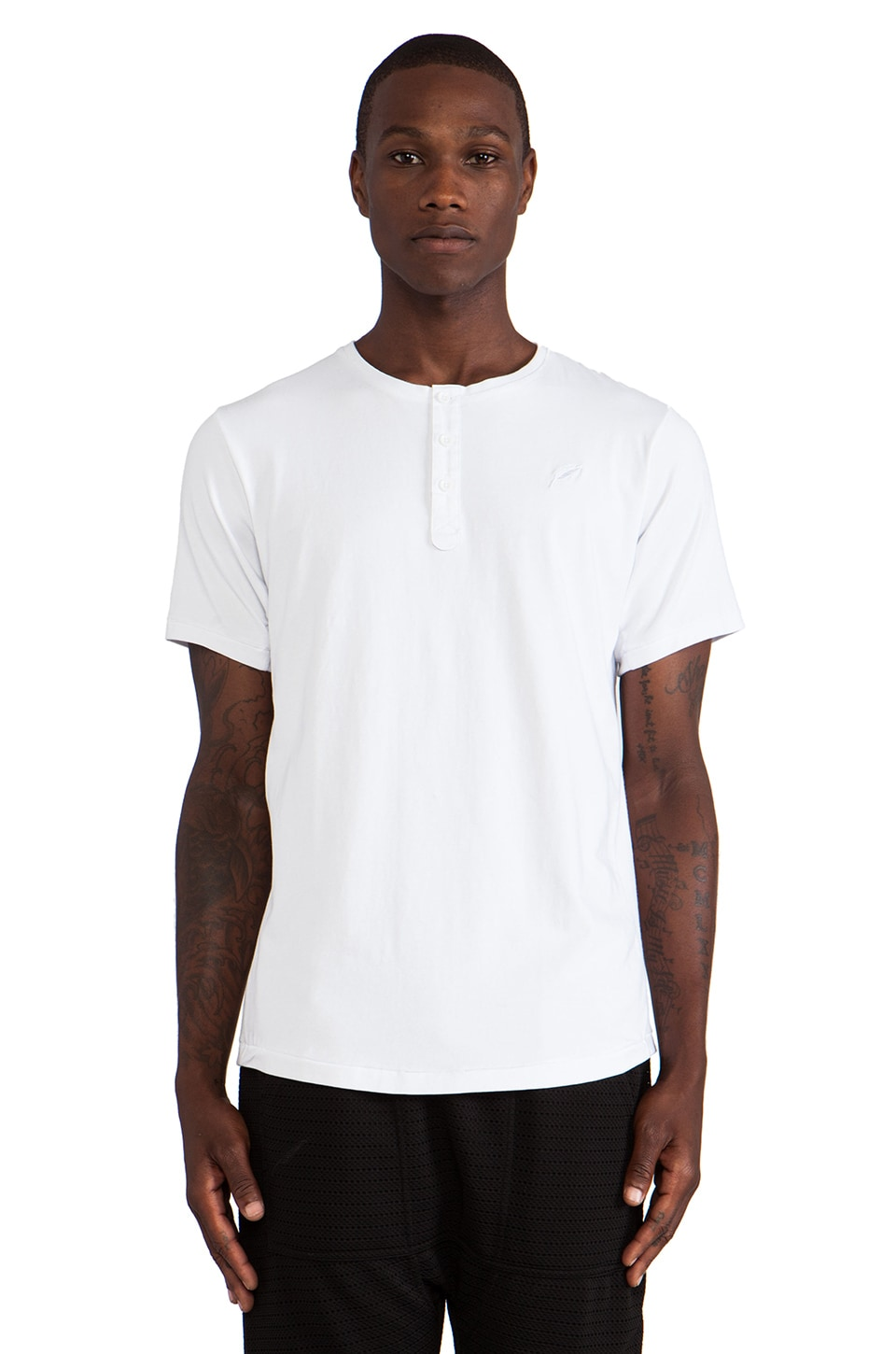 Publish Heily Henley in White