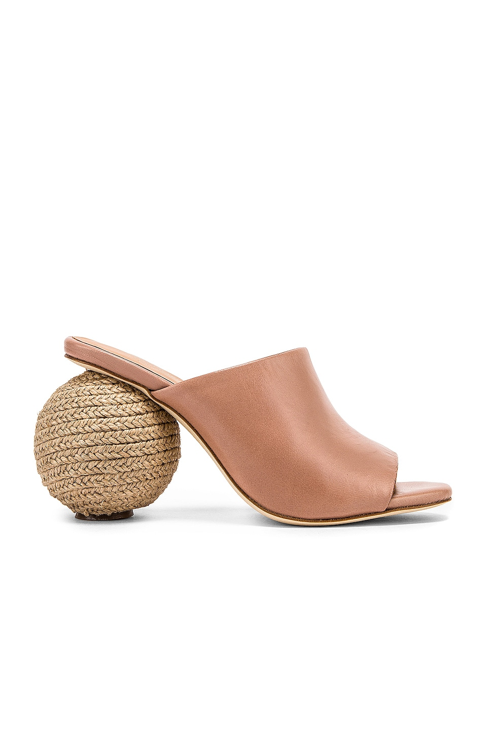 Paloma Barcelo Blanche Mule in Taupe