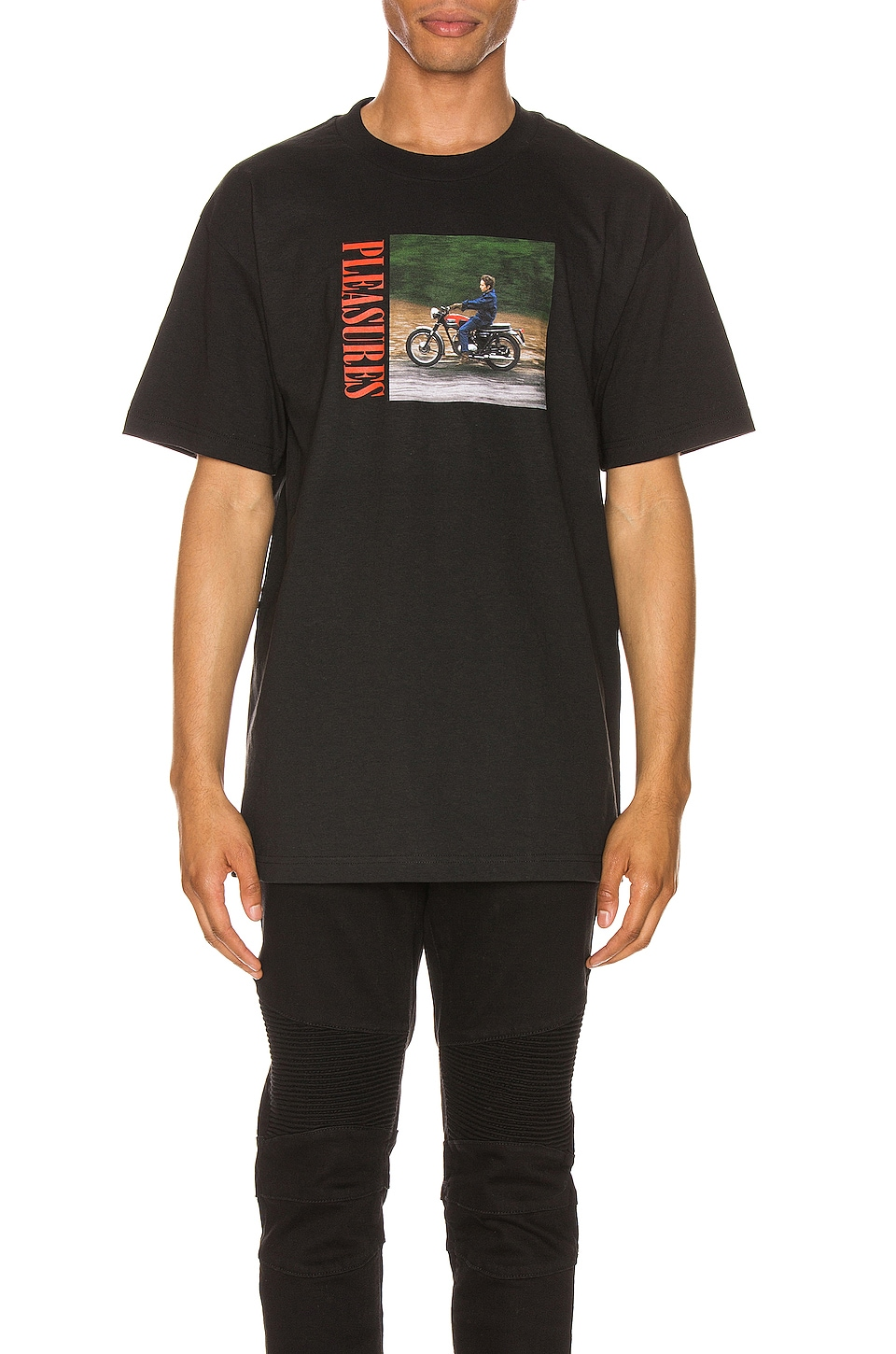 Pleasures Ride Tee in Black