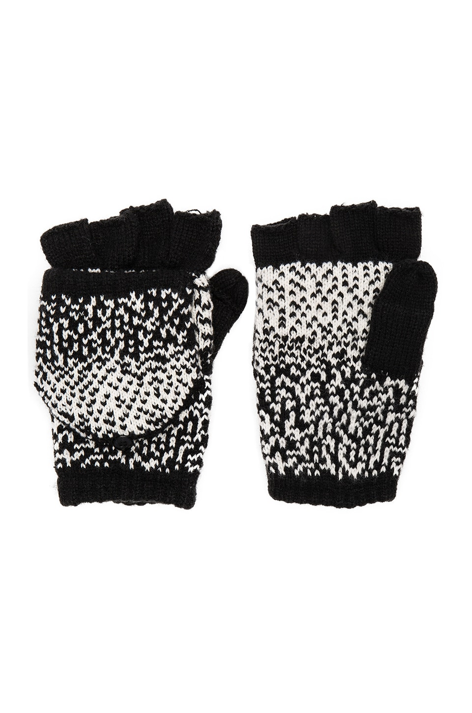 Ombre Dot Texting Mittens by Plush