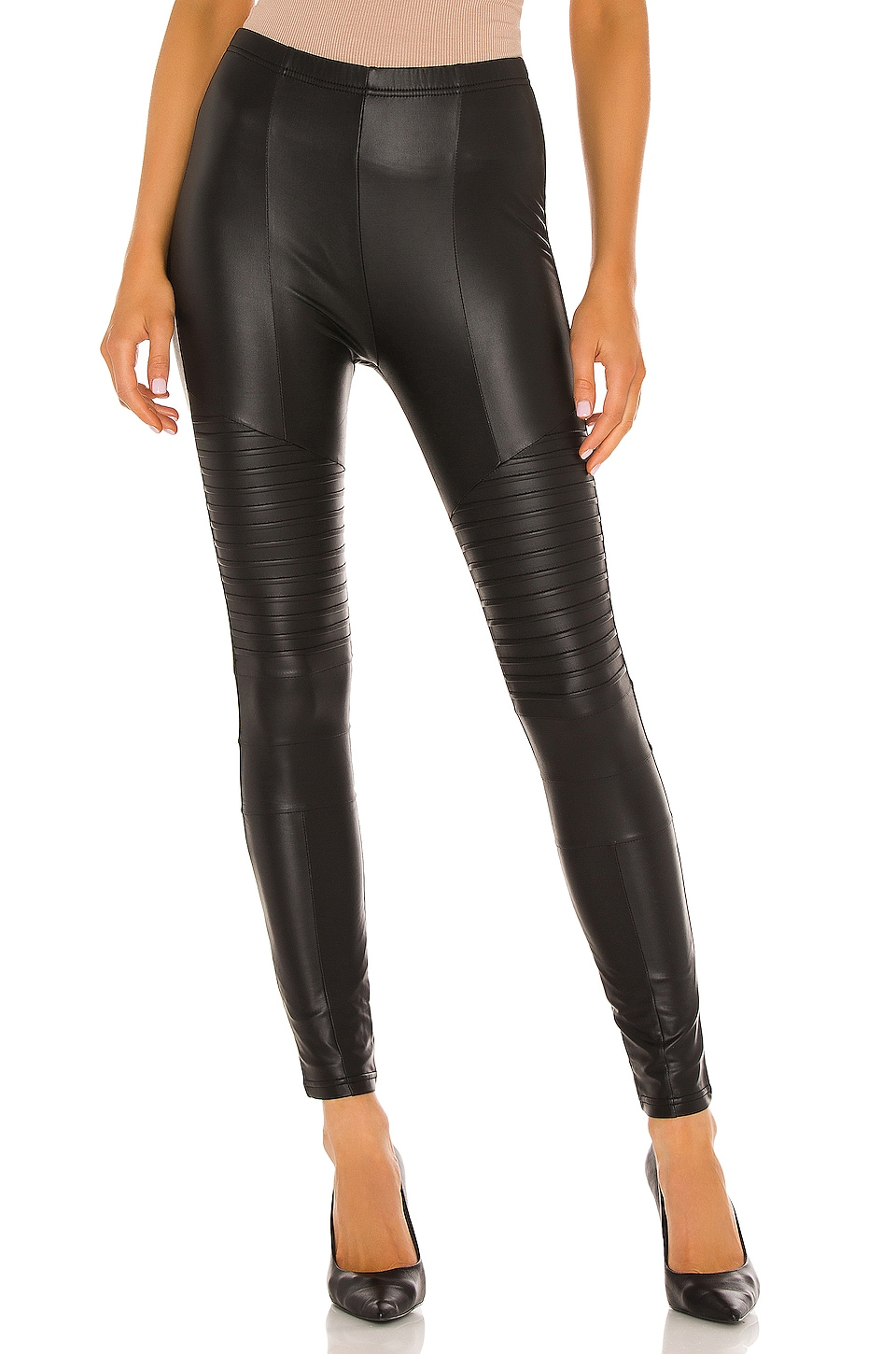 Plush LEGGINGS MOTO