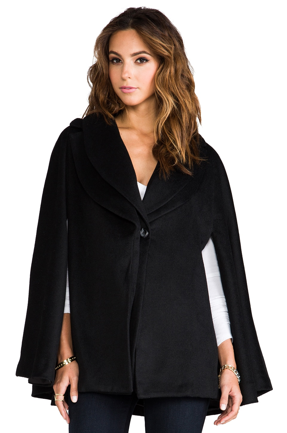 primary Akasha Cape in Black