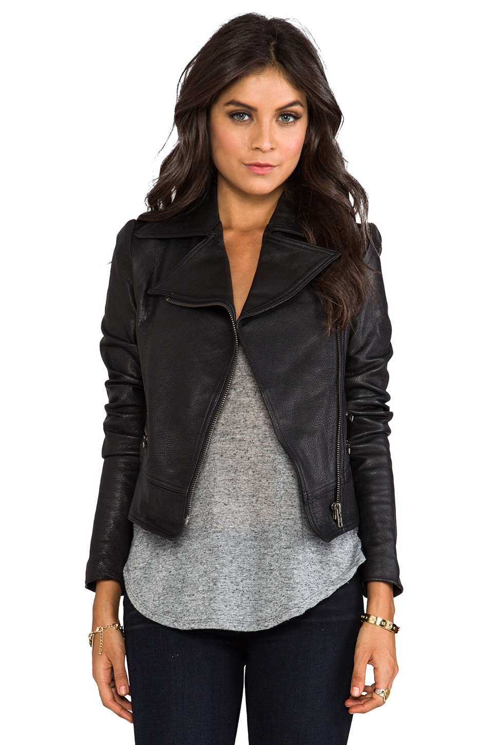 primary Moto Jacket in Black
