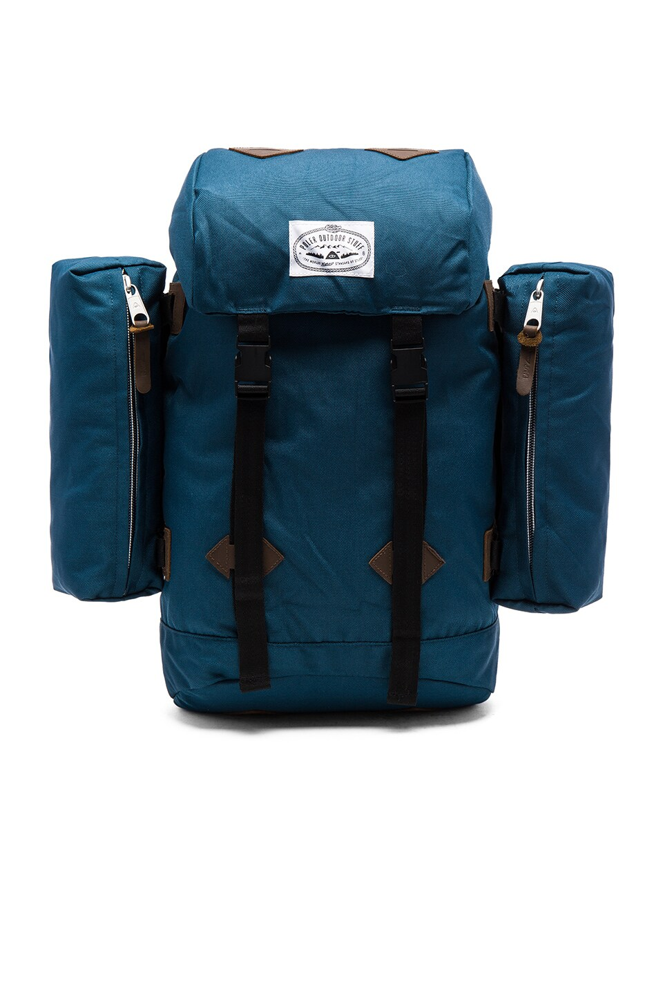 Poler Retro Rucksack in Blue Steel