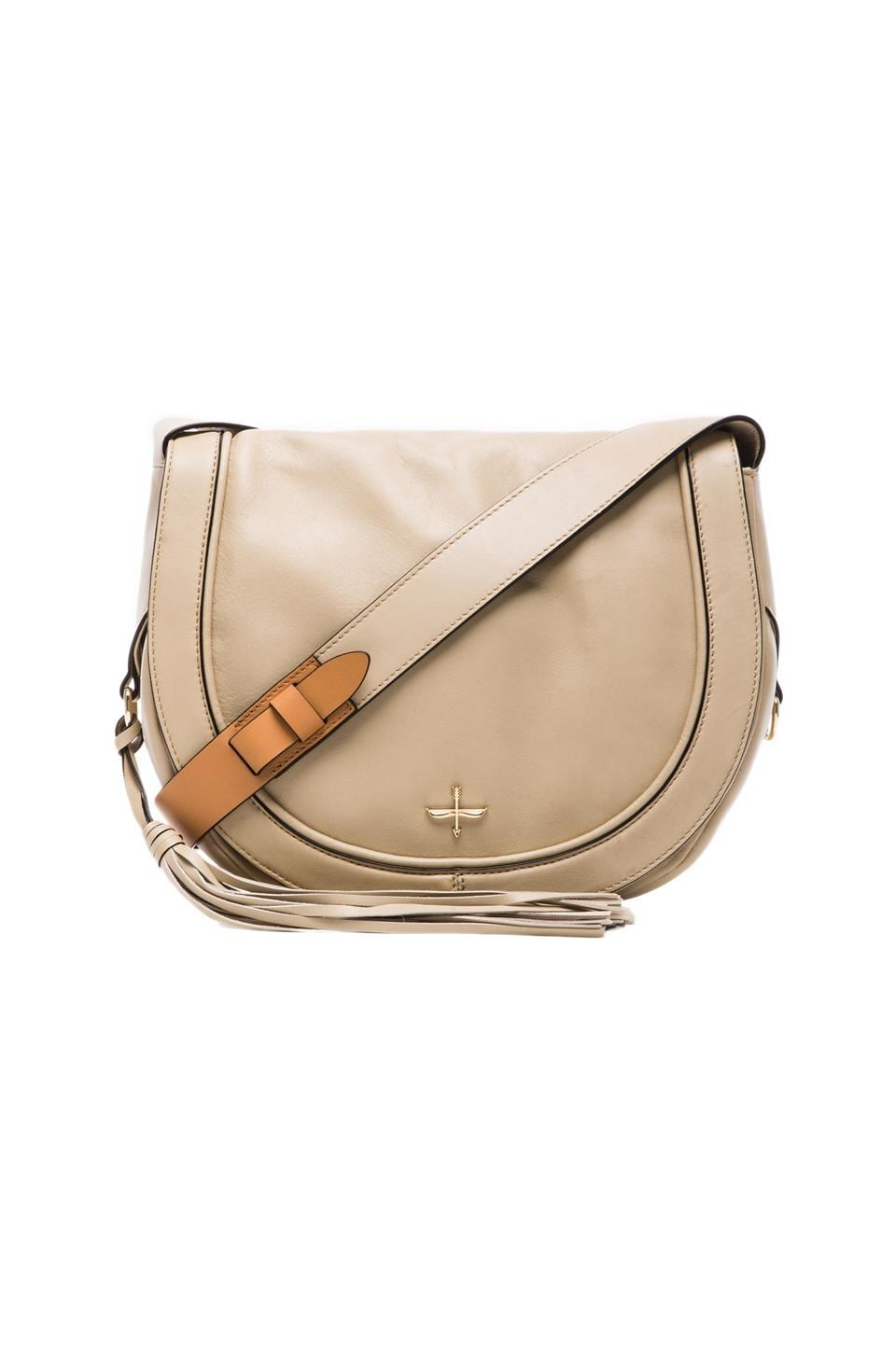 Pour La Victoire Nina Saddle Bag in Bone