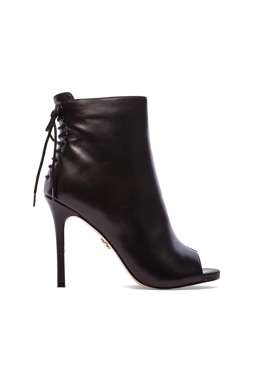 Pour La Victoire Vanya Bootie in Black