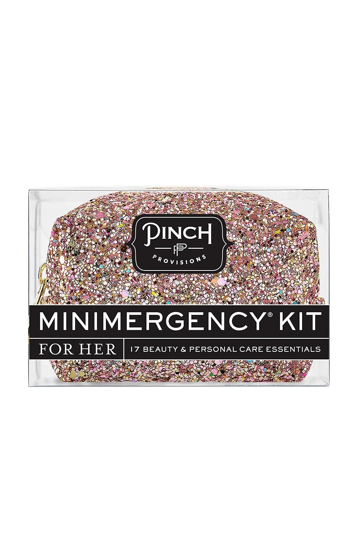 Pinch Provisions Glitter Bomb Minimergency Kit in Rose Gold