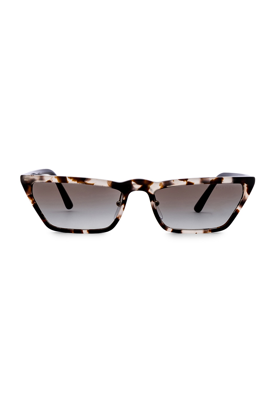 Prada Ultravox Acetate in Opal Spotted Brown & Grey Gradient