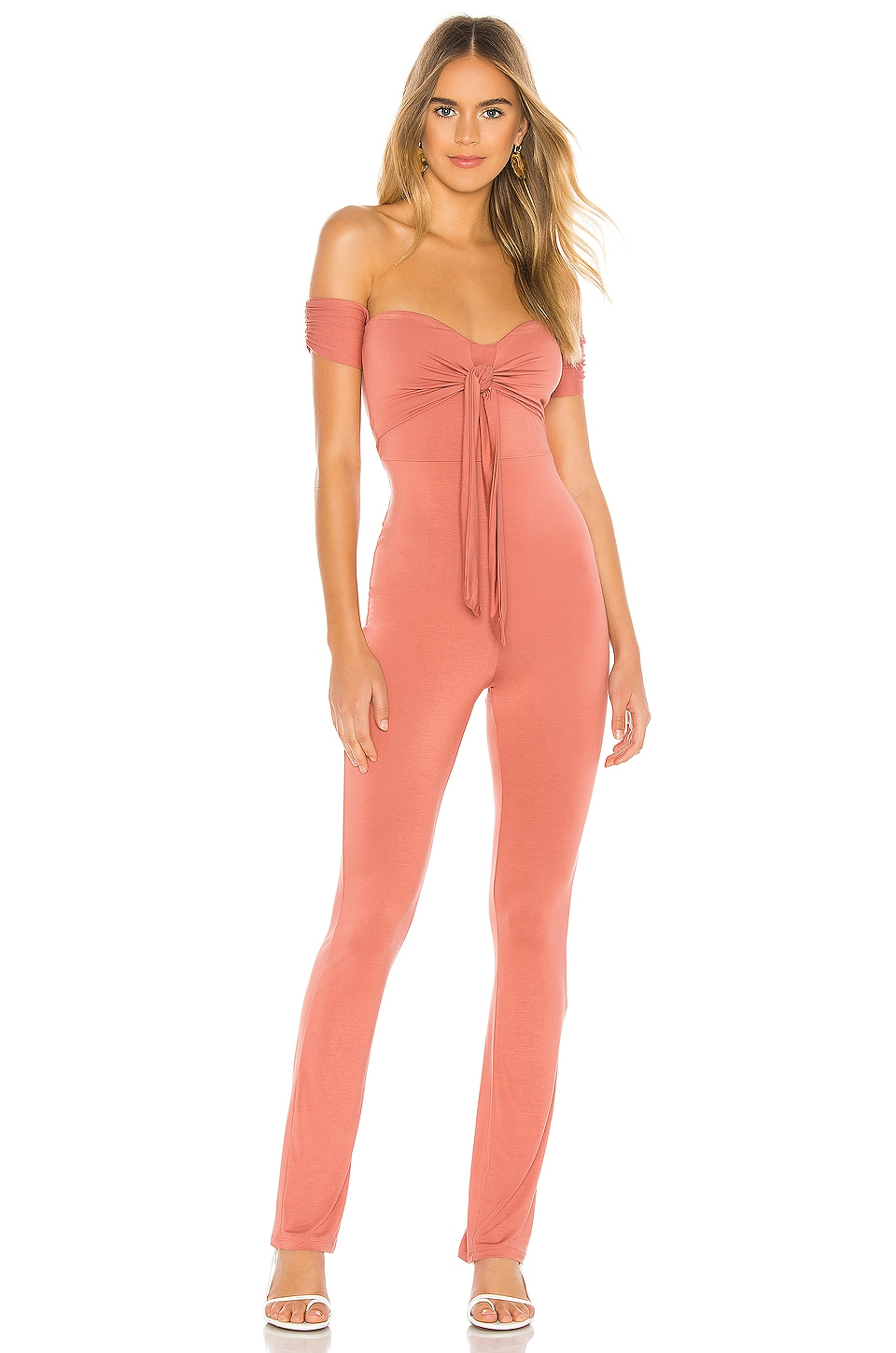 Privacy Please Rosalia Jumpsuit in Rose