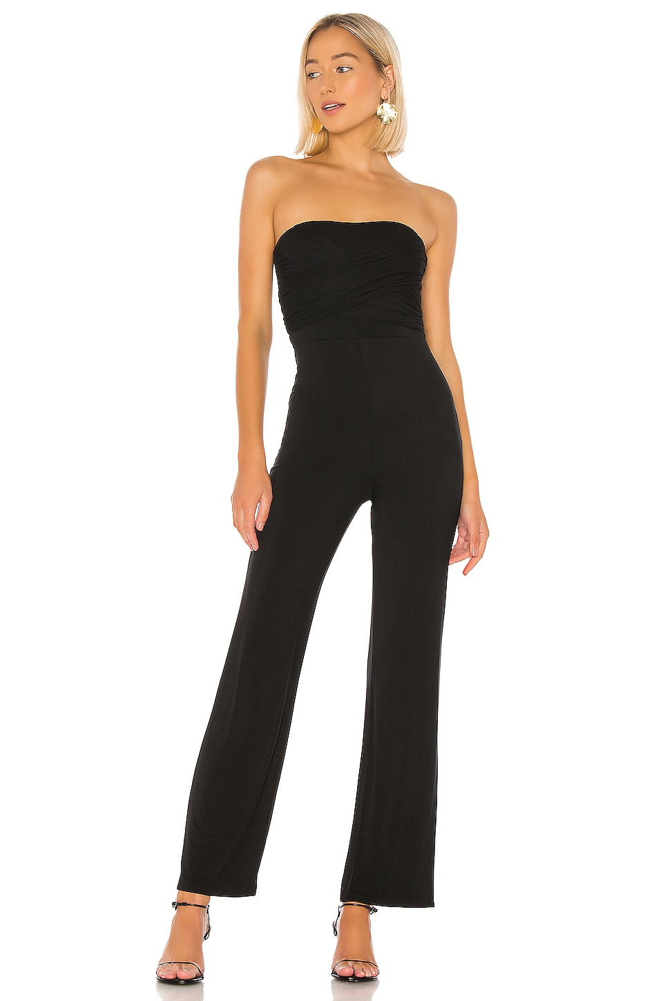 Privacy Please Sandy Jumpsuit en Black