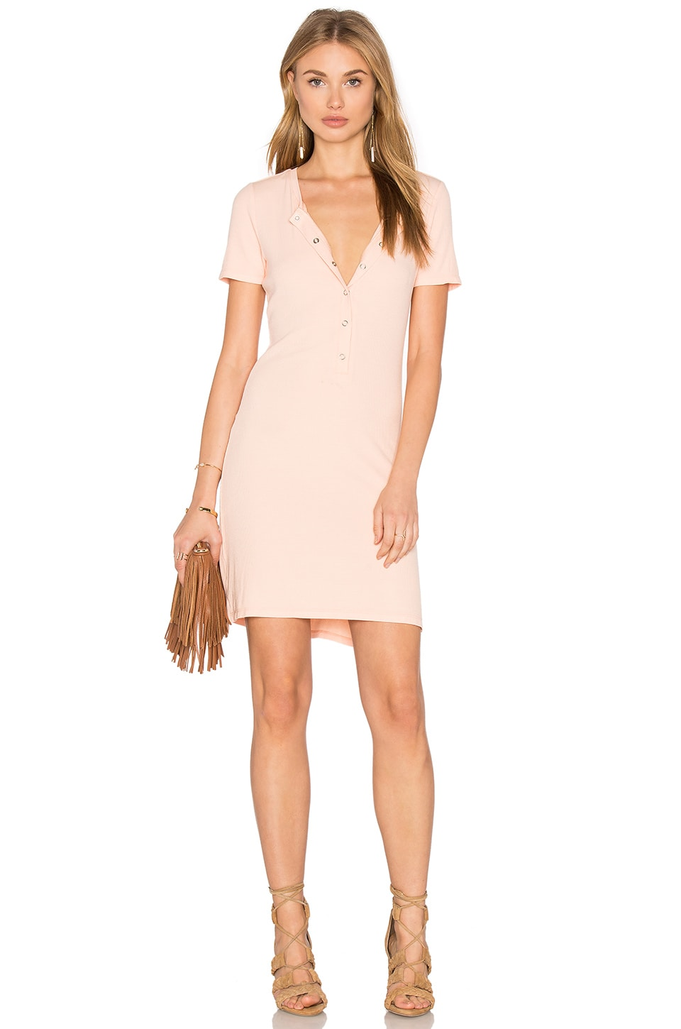 Privacy Please Travers Dress in Pale Pink