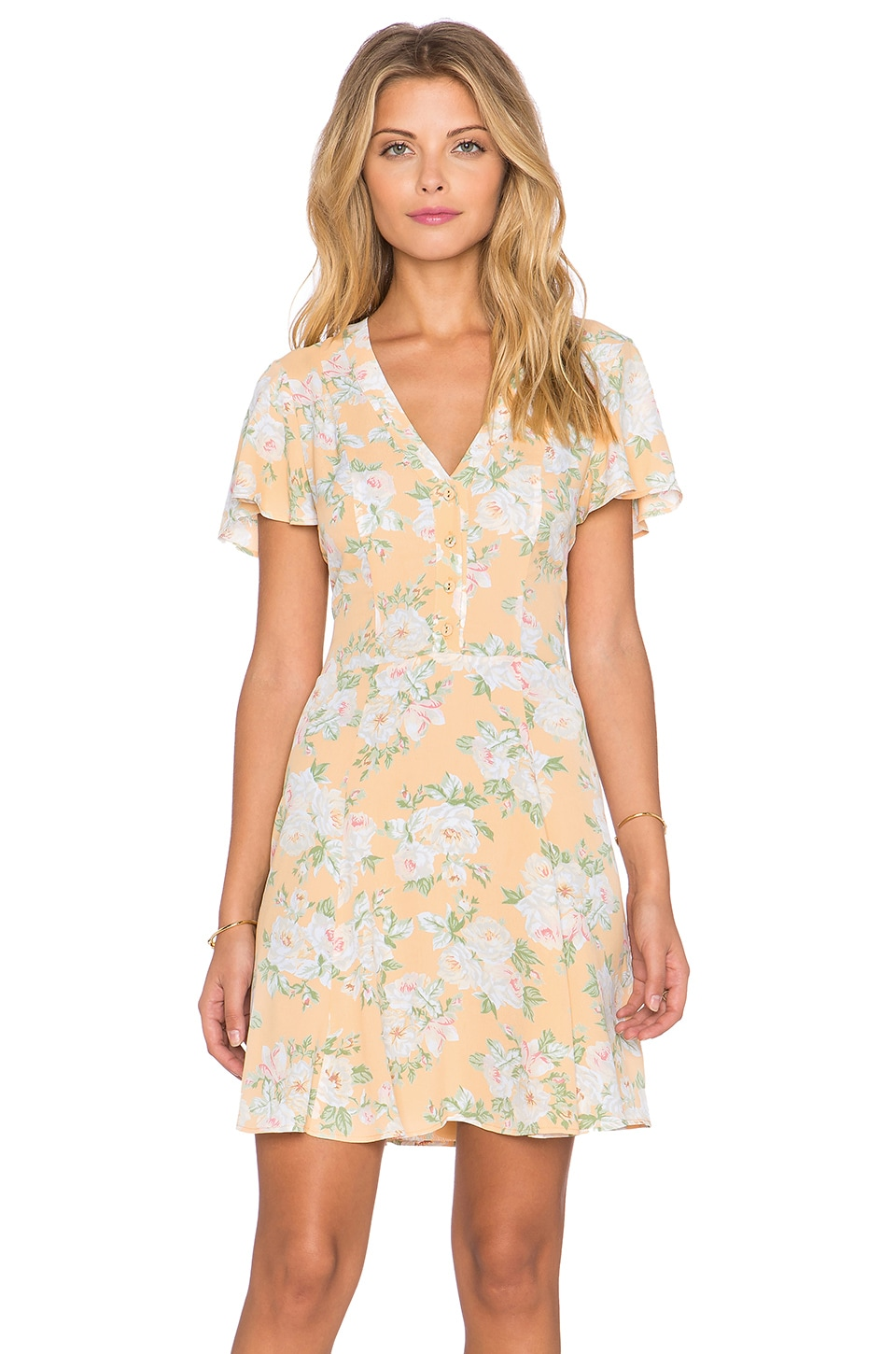 Privacy Please Amsterdam Mini Dress in Flore