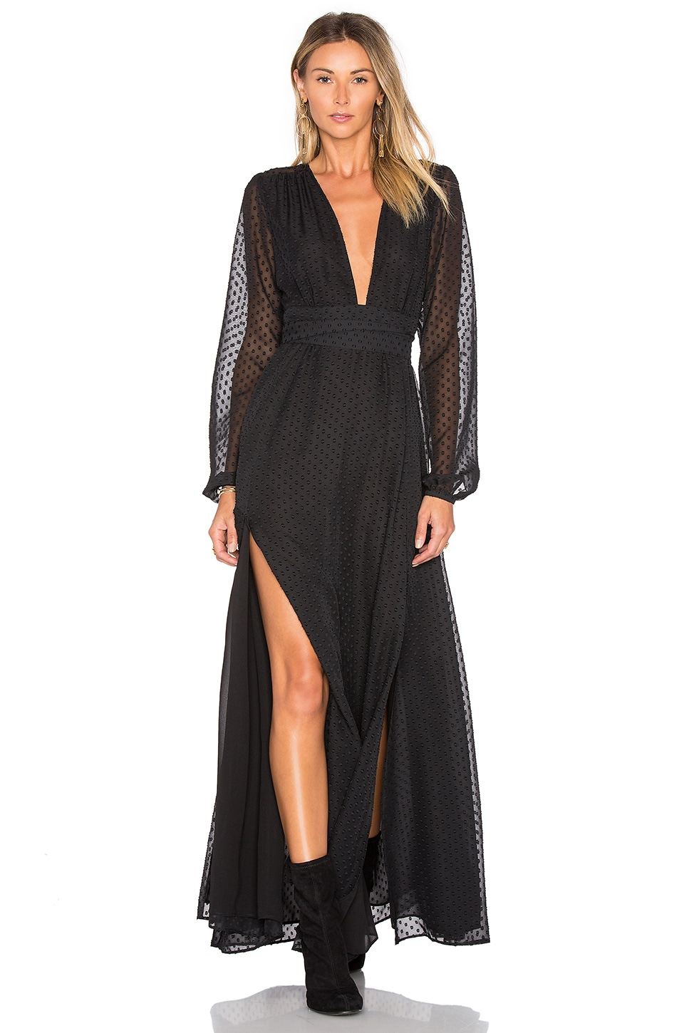 Privacy Please Stockton Dress in Black