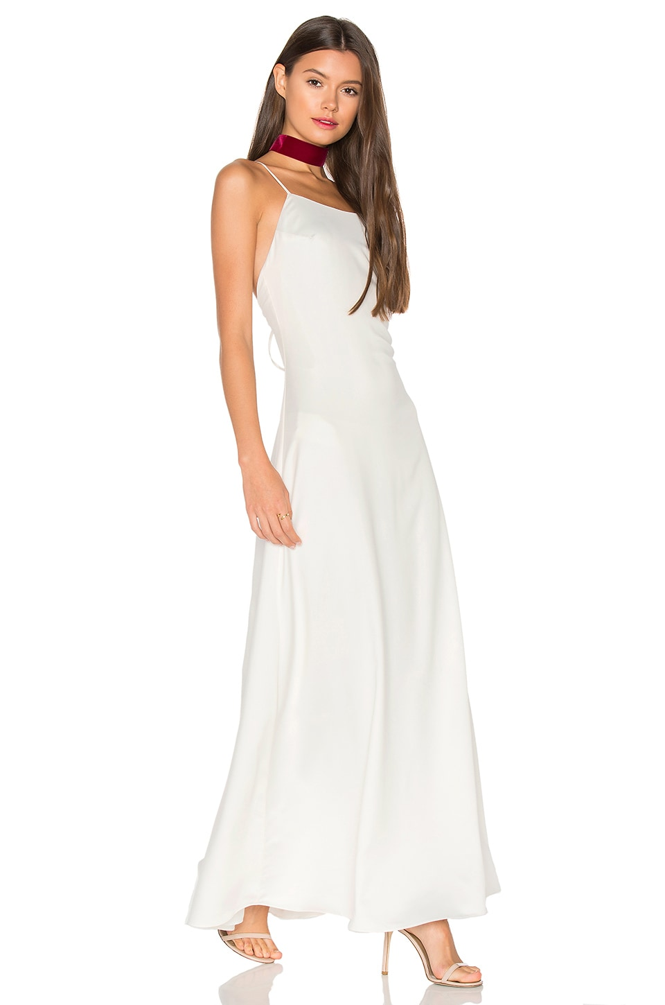 Privacy Please Elm Dress in Ivory