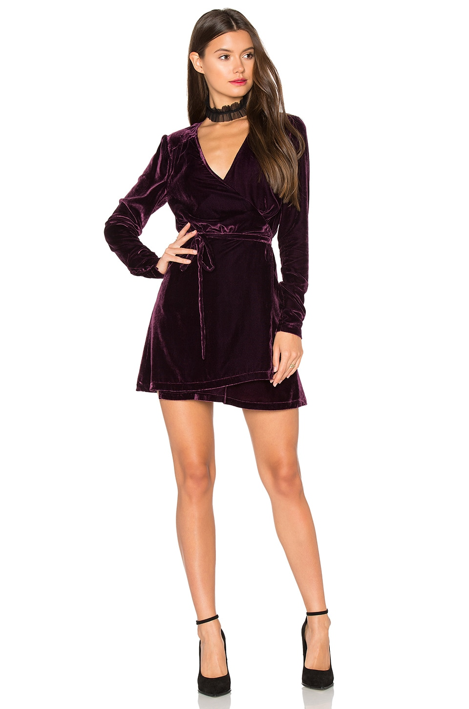 Privacy Please x REVOLVE Astro Dress in Wine