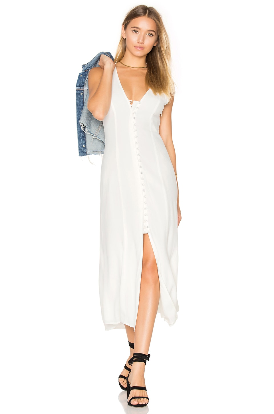 Privacy Please Lomax Dress in White