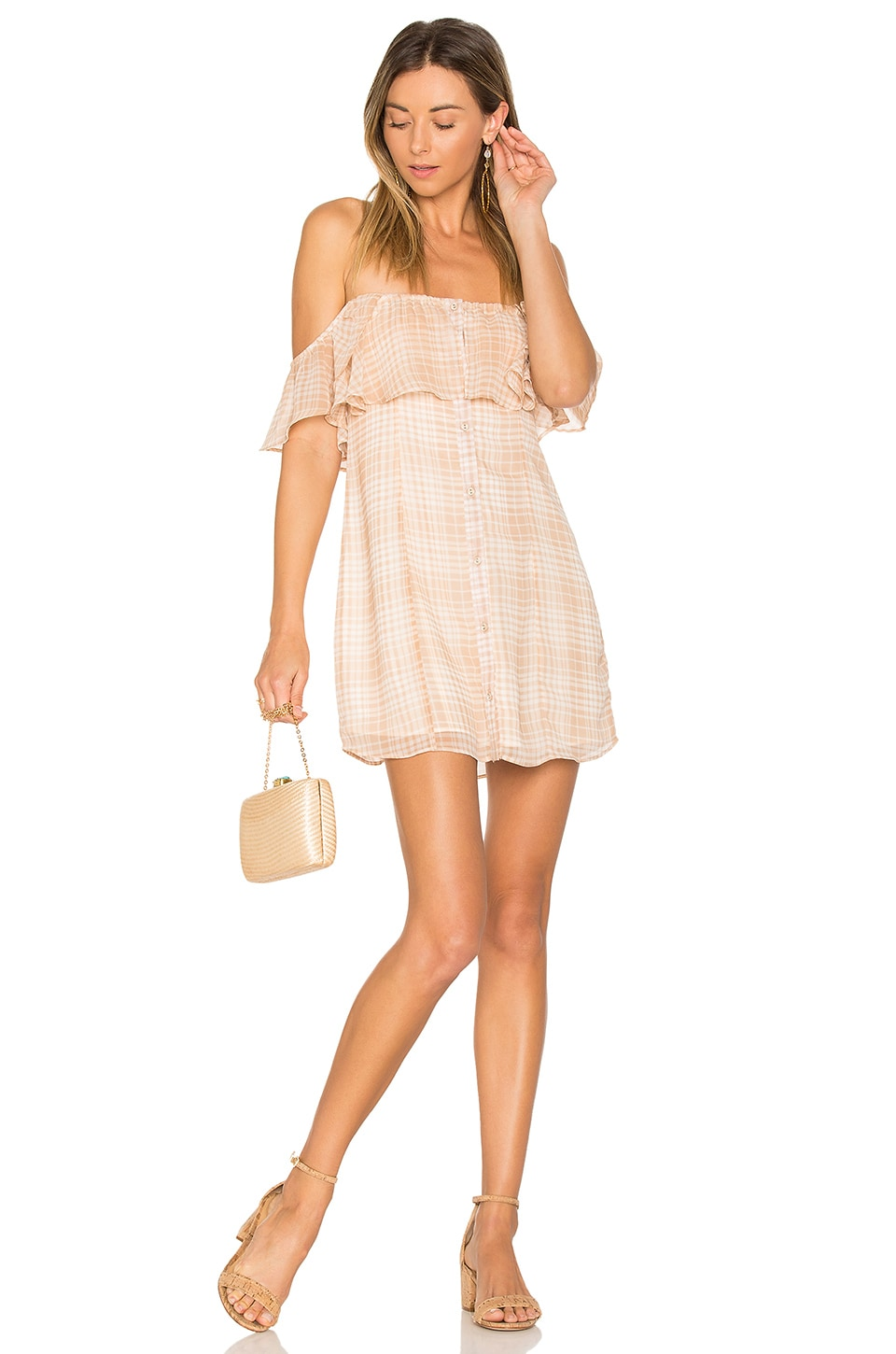 Privacy Please Norval Dress in Tan